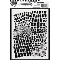 Carabelle Studio Template A6 - Snake Skin