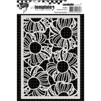 Carabelle Studio Template A6 - Flowers