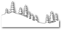 Memory Box Craft Die - Fresh Pine Curved Border