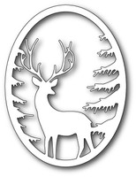 Memory Box Craft Die - Grand Stag Oval Frame