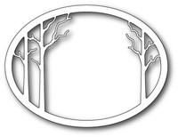 Memory Box Craft Die - Forest Clearing Oval Frame