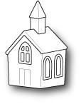 Memory Box Craft Die - Country Church
