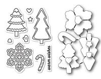 Memory Box Dies & Stamps Die Set - Christmas Cookies