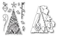 Memory Box Dies & Stamps Die Set - Botanical Christmas Tree