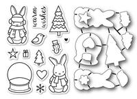 Memory Box Dies & Stamps Die Set - Bunny Wishes
