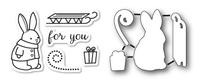 Memory Box Dies & Stamps Die Set - Bunny Gift