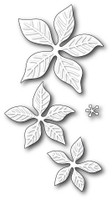 Memory Box Poppystamps Dies - Holiday Poinsettia