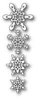 Memory Box Poppystamps Dies - Ava Snowflakes