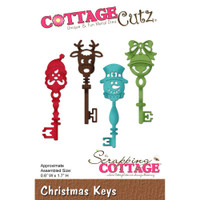 CottageCutz Die - Christmas Keys