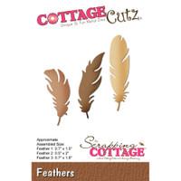 CottageCutz Die - Feathers