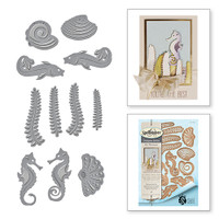 Spellbinders Shapeabilities  Art Nuveau By Stacey Caron - Nouveau Sea Life
