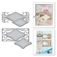 Spellbinders Shapeabilities Art Nuveau By Stacey Caron - Metro Style Tags