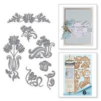 Spellbinders Shapeabilities Art Nuveau By Stacey Caron - Nouveau Florals