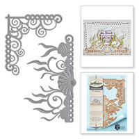 Spellbinders Shapeabilities Art Nuveau By Stacey Caron - Sea Life Accents