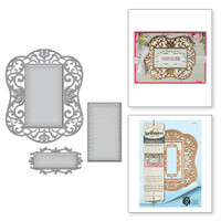 Spellbinders Nestabilities Deco Element - Botanical Bliss Additional -  Label 54 Decorative Element