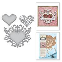 Spellbinders Shapeabilities - Botanical Heart Pair