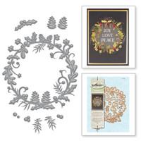 Spellbinders Shapeabilities - Holly Berry Wreath