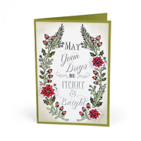 Sizzix Clear Stamps - Seasonal Sentiments