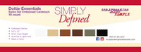 Simply Defined Dottie - Essentials 18pk