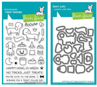 Lawn Fawn Clear Stamps & Dies -  Happy Howloween