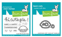 Lawn Fawn Clear Stamps & Dies - Cutie Pie