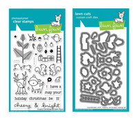 Lawn Fawn Clear Stamps & Dies - Cheery Christmas