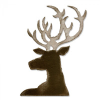 Sizzix Bigz Die By Tim Holtz - Dashing Deer