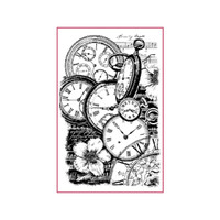 Stamperia High Definition Rubber Stamp - Music Notes