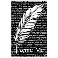 Stamperia High Definition Rubber Stamp - Feather