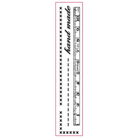 Stamperia High Definition Rubber Stamp - Hand made