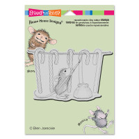 Stampendous: House Mouse Stamps - Painting Stripes