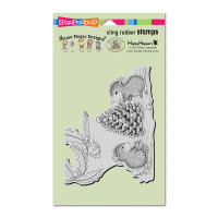Stampendous Cling Stamp - Berry Decorations