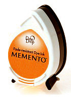 Memento Dew Drop Ink Pad - Tangelo