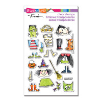 Stampendous Clear Stamp - Costume Stack
