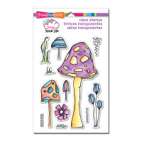 Stampendous Clear Stamp - Mushroom