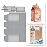 Spellbinders Shapeabilities by Marisa Job - More Than Milk Carton