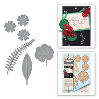 Spellbinders Shapeabilities by Debi Adams - Geraniums and Leaves