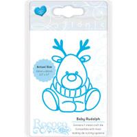Tonic Studios Rococo Petite Christmas Die - Baby Rudolf