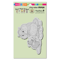 Stampendous Cling Rubber Stamp - Chipmunk Treat