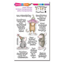 Stampendous Perfectly Clear Stamps Set  - Friend Wishes