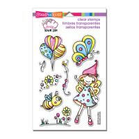 Stampendous Perfectly Clear Stamps Set  - Whisper Fly
