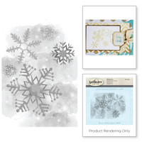 Spellbinders Stamps - Holiday 3D Shading Stamps - Cold Spell