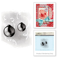 Spellbinders Stamps - Holiday 3D Shading Stamps - Ornaments