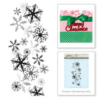Spellbinders Stamps - Holiday 3D Shading Stamps - It's Snowing