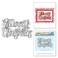 Spellbinders Stamps Tammy Tutterow Collection : Merry Christmas