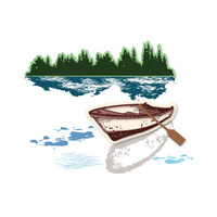 Simply Defined The Wind In The Woods  - Row Boat