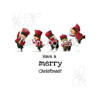 Stamping Bella Cling Stamp - Christmas Soldiers