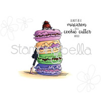 Stamping Bella Cling Stamp - Monique Loves Macaroons