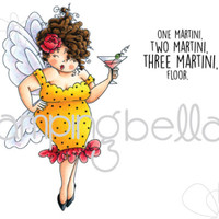 Stamping Bella Cling Stamp - Edna Needs A Martini