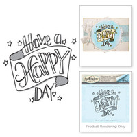 Spellbinders 3D Shading Stamps Tammy Tutterow Collection: Happy Day